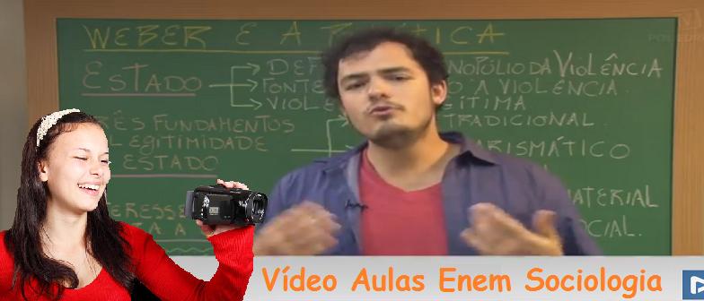 Vídeo Aulas Enem Sociologia Vestibular1