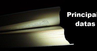 Produção literária Brasil Principais datas Vestibular1