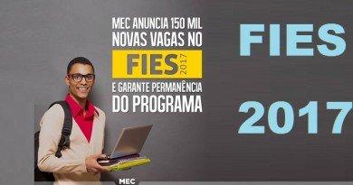 MEC anuncia 150 mil novas vagas no Fies MEC anuncia 150 mil novas vagas no Fies Vestibular1