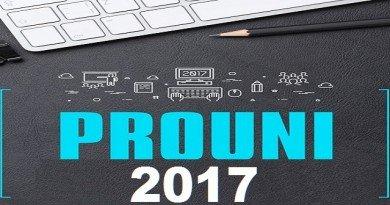 ProUni 2017 em Vestibular1 bolsas