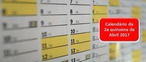 Calendário do Vestibular de Abril 2017 2a quinzena Vestibular1