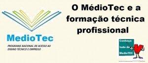 O MédioTec e a formação técnica profissional Vestibular1