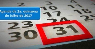 Agenda da 2a quinzena de Julho de 2017 Vestibular1