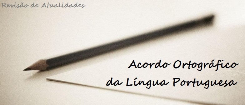 Acordo Ortográfico da Língua Portuguesa Vestibular1