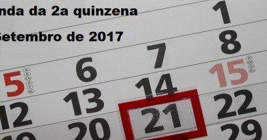 Agenda da 2a quinzena de Setembro de 2017 Vestibular1