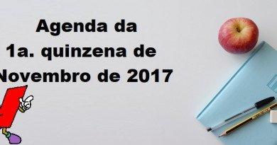 Agenda da 1a. quinzena de Novembro de 2017 Vestibular1