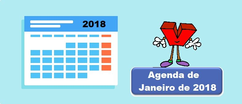 Agenda de Janeiro de 2018 Vestibular1