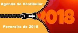 Agenda do Vestibular de Fevereiro de 2018 por Vestibular1