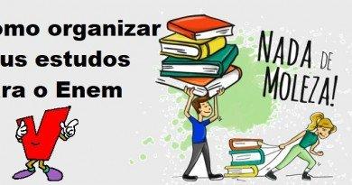 Como organizar seus estudos para o Enem