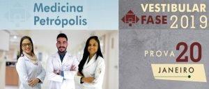 FMP/Fase tem inscrições para Vestibular 2019 em Petrópolis por Vestibular1